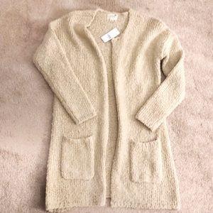 LA Hearts Knit Cardigan - Cream